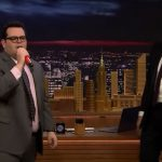 Josh Gad Jimmy Fallon