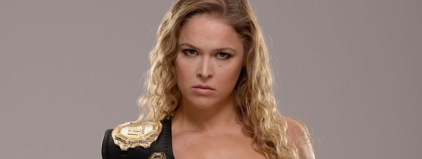 10 Super Foods Ronda Rousey Devours and Her Mom's Take on Her Champion Daughter