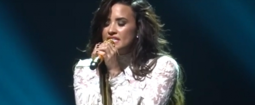 Demi Lovato Totally Nails an Adele Cover